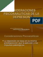 Consideraciones Psicoanaliticas de La Depresion