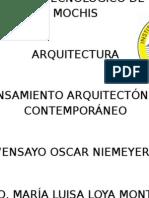 Ensayo Arq Oscar Niemeyer