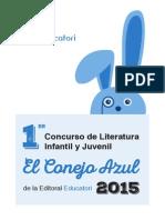 """I Concurso de Literatura Infantil y Juvenil """"El Conejo Azul"""""""