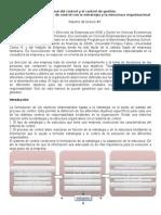 La Vinculación Del Sistema de Control Con La Estrategia y La Estructura Organizacional