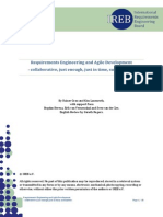 Requirements Engineering and Agile Development - Article