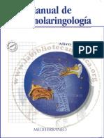Manual Correa Otorrinolaringologia
