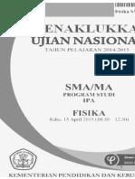 Menakkukkan Soal-soal Ujian Nasional Fisika 2015 - Zainal Abidin