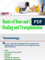 Basics of Bone and Cartilage Healing and Transplantation