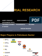 comparision of HPCL, BPCL & IOCL