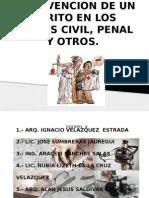 Intervencion de Un Perito en Los Juicios Civil