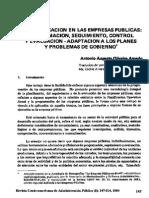 La Planificación en El Sector Público