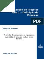 Gestão de Projetos AULA01 PPT
