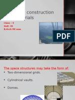 unit 3 Space frames