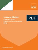 Cambridge 0510 Learner Guide
