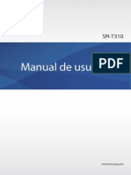 Manual Samsung Tablet SM-T310