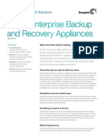 EVault Enterprise Backup  and Recovery Appliances