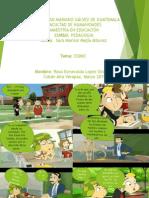 comic pedagogia  esmeralda lopez