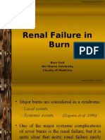 Renal Failure in Burn :