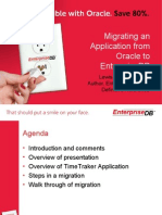 EnterpriseDB Migration Webinar