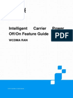 ZTE UMTS Intelligent Carrier Power Off or on Feature Guide_V8 5_201312