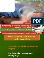 Simpo 1 - Responding to Neonatal Emergency in PHC Setting - Dr Tunjung SpA