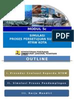 SIMULASI PROSES REVISI RTRW KABUPATEN/KOTA