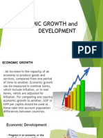 Economic Growth and Development