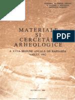 H. Daicoviciu, E. Comsa, s.a. - Materiale si cercetari arheologice XVI 1982.pdf