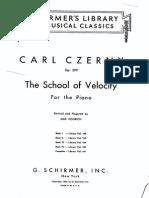 Czerny Schule Der 299--0 4301