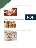 Appetizer,Dessert,Salad,Maincourse