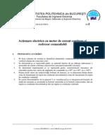 SA2_Comanda ectionarilor electrice