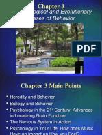 The Biological and Evolutionary Bases of Behavior
