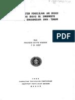 Optimasi Sistem Pengelolaan Air Irigasi Di Daerah Irigasi Bd Singomerto-Abstrac