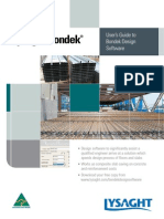 Bond Ek Software User Guide June 2012