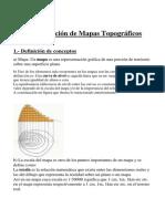 Interpretacion de Mapas Topograficos, Carlos Bravo
