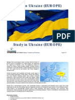 Study in Ukraine Guide for Agents