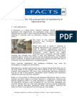 E-Fact 20 - Checklist for the Prevention of Accidents in Laboratories