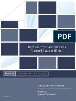 Best Practice Security in a Cloud Enabled World