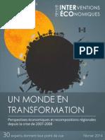 Transformation Fevrier2014,Interventions Économiques