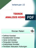 Materi P10 Parametrik Teknik Analisis Korelasi-libre