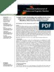 Length-Weight Relationship and Condition Factor of an Parambasis Ranga