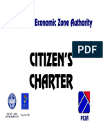 Peza Citizen's Charter