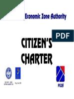 Peza Citizen's Charter