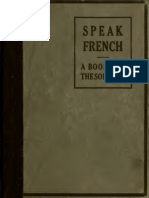 Speak French, A Book for the Soldiers, 1917