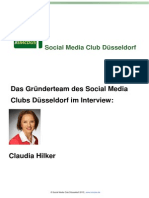 Claudia Hilker_Das Gründerteam Des Social Media Clubs Düsseldorf Im Interview