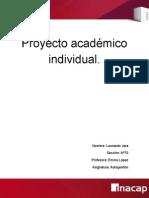 Proyecto Academico Individual