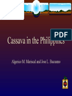 Cassava - In the Philippines