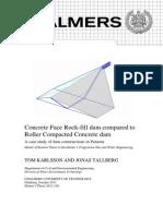 Cfrd vs Rcc Dams