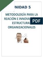 Metodologia Para La Creación e Innovacion de Estructuras Organizacionales