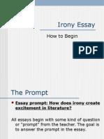 Irony Essay