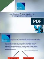 Los sistemas de información de la mercadotecnia  SIM