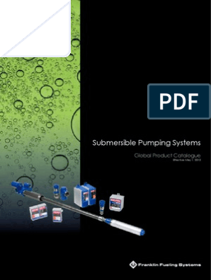 Submersible Pumping Systems | Gasoline | Pump on