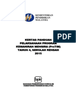 Kertas Makluman Untuk Pelaksanaan Program ProTiM