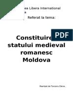 formarea Moldovei